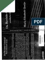 Da Revisão Criminal - Condições da Ação - Maria Elisabeth Queijo