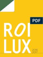 Catalogo Roilux 2016