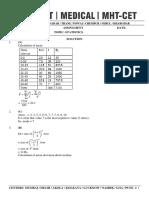 Statistics - Solution