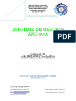 Informe de Gestion 2016 (Planeacion Municipal)
