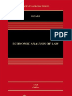 (Law and Economics) Richard Posner-Economic Analysis of Law-Wolters Kluwer (1986)