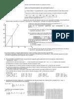 Examen Extraordinario Matematicas 3