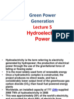5 Hydroelectric