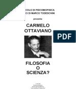 Carmelo Ottaviano - Filosofia o Scienza