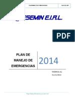 Plan de Emergencias 2014