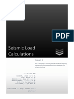 Seismic Load Computation