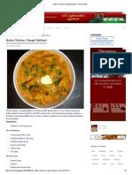 Butter Chicken _ Murgh Makhani - Recipe Book