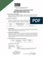 TERMINOS DE REFERENCIA ADQUISICION DE CEMENTO PORTLAND