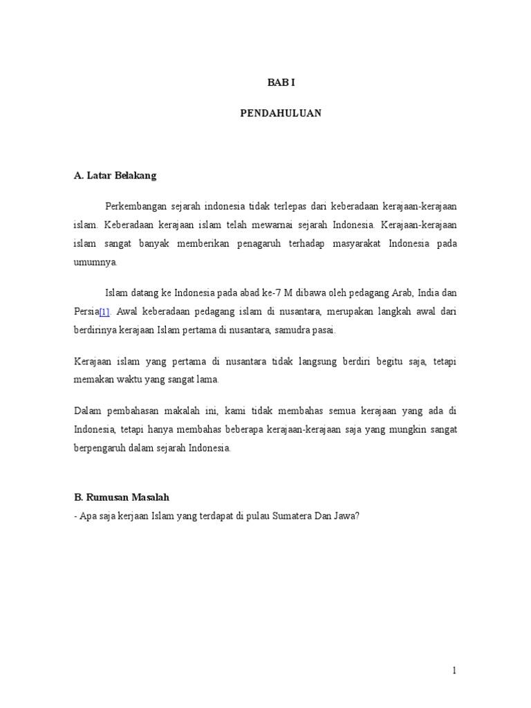 36644613 Kerajaan Islam Di Sumateradoc