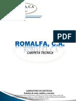 CARPETA ROMALFA 2017