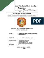 Diagnostico de Planta de Panificacion