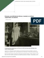 ___Eugenia _ Pessoas Com Deficiências Físicas e Mentais_ as Vítimas 'Esquecidas' Do Nazismo - BBC Brasil