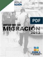 Informe Sobre Migracion Internacional