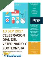 folleto veterinaria
