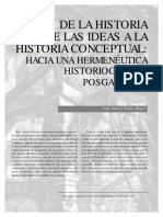 Nomadas de La Historia de Las Ideas a La Historia Conceptual