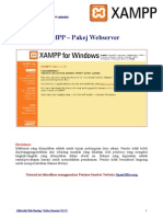 XAMPP Local Web Server