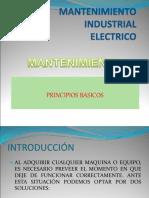 Mantenimiento Industrial  Eléctrico.ppt