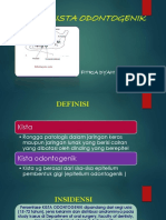 Presentasi Kista Odontogenik