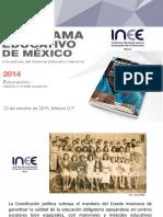 Panorama Educativo  Mexicano 2014