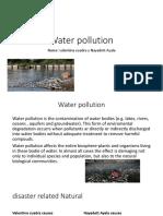 Water Pollution Vale y Naya