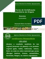Xxiv Cfo Certificacao Fitossanitaria de Origem Atual