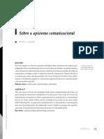 Sobre a Episteme Comunicacional_aula 20 03