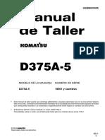 Sm d375a-5 18001 Up Gsbm023505 Español