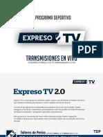 Auspiciantes Expreso Tv