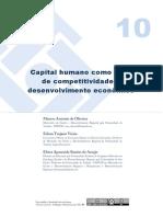 Artigo 10 Capital Humano e Competitividade