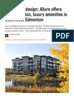 Alluring by Design_ Allure Offers Customization, Luxury Amenities in Southwest Edmonton _ Edmonton Journal