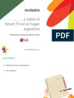 LG_Estudio Sobre Smart TV en El Hogar Argentino
