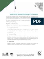 Areas Fisicas y Personal de La Central de Esterilizacion.