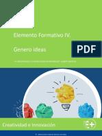EF IV Creatividad e Innovación Genero Ideas v.2.0