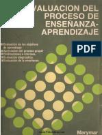 Evaluación Del Proceso de Enseñanza-Aprendizaje