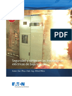 Seguridad y riesgo en las instalaciones eléctricas de baja tensión