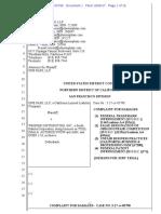 One Pass v. Weisser Distributing - Complaint