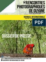 Dossier de Presse Rencontres Photographiques de Guyane 2017