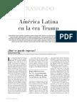 America Latina en La Era Trump