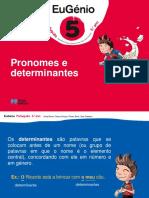 Eug5 Ppt Pronomes Determinantes