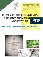 Elementos Básicos, Sistemas y Órdenes Formales de-2