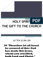 Holy Spirit-Gift to Church-Part2