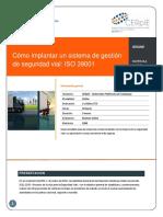 Implantar Sistema Gestionseguridadvial Iso 39001