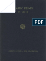 AISC Plastic Design in Steel