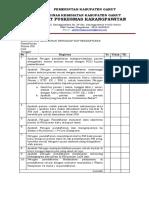E.P. 7.2.1.3. Monitoring Kepatuhan Pada SOP Klinisstandar Asuhan Klinis BNR