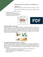 Principales Impuestos que se pagan en Guatemala