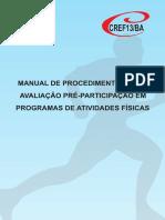 Manual de Procedimentos Para Avaliação