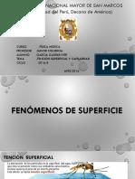 Exposición de Tensión Superficial