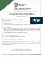 Check List Para Obras de Urbanización Tj 10 Abr 2014
