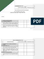 GAP ISO 9000 14000 Y OHSAS 18000