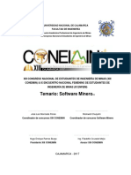 Temario Software Minero